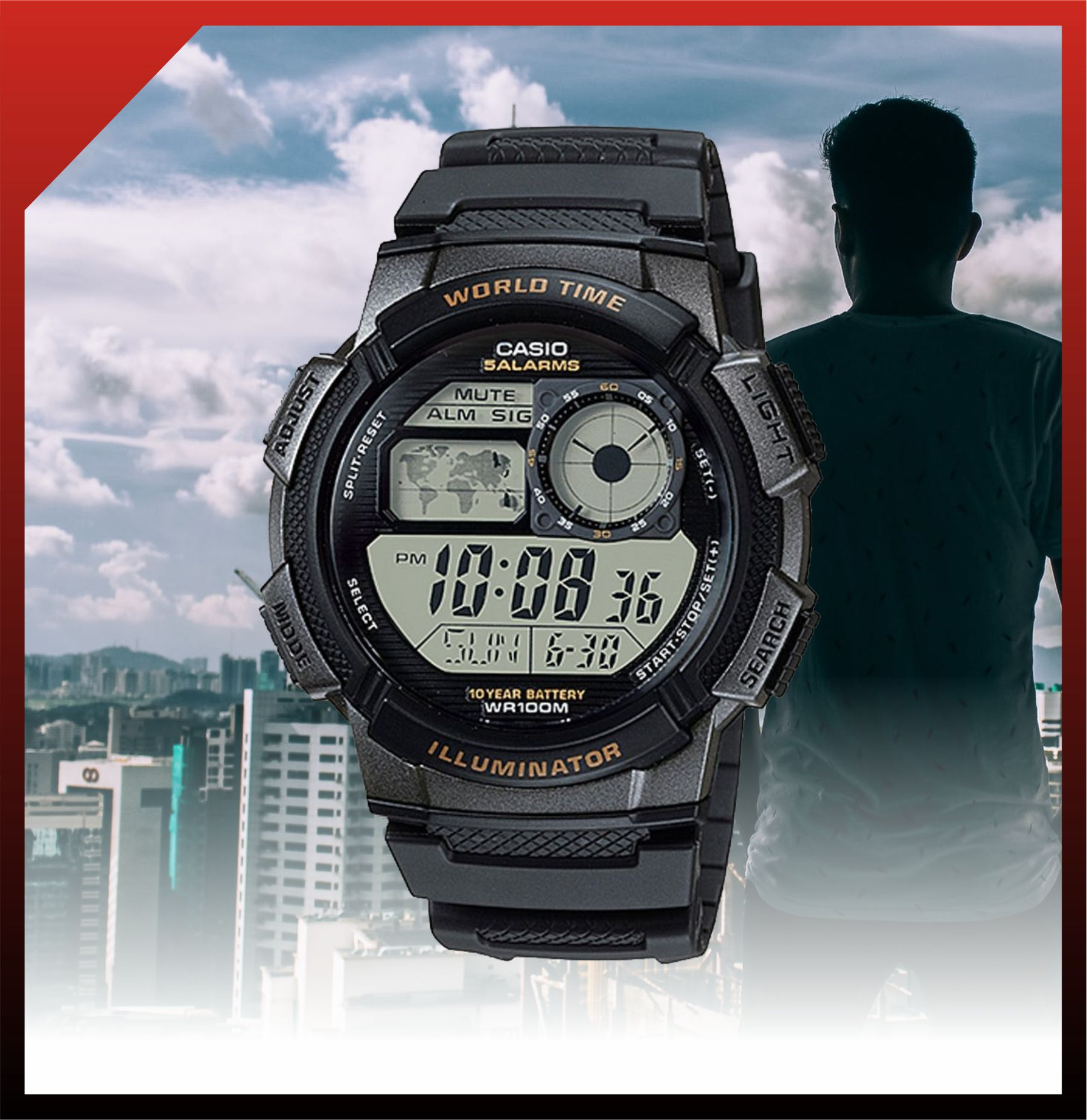 Casio Standard Male Digital