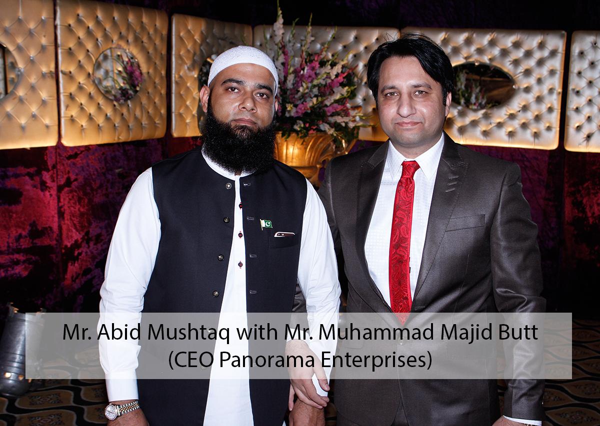 Ceo Abid Mushtaq Panorama Enterprises