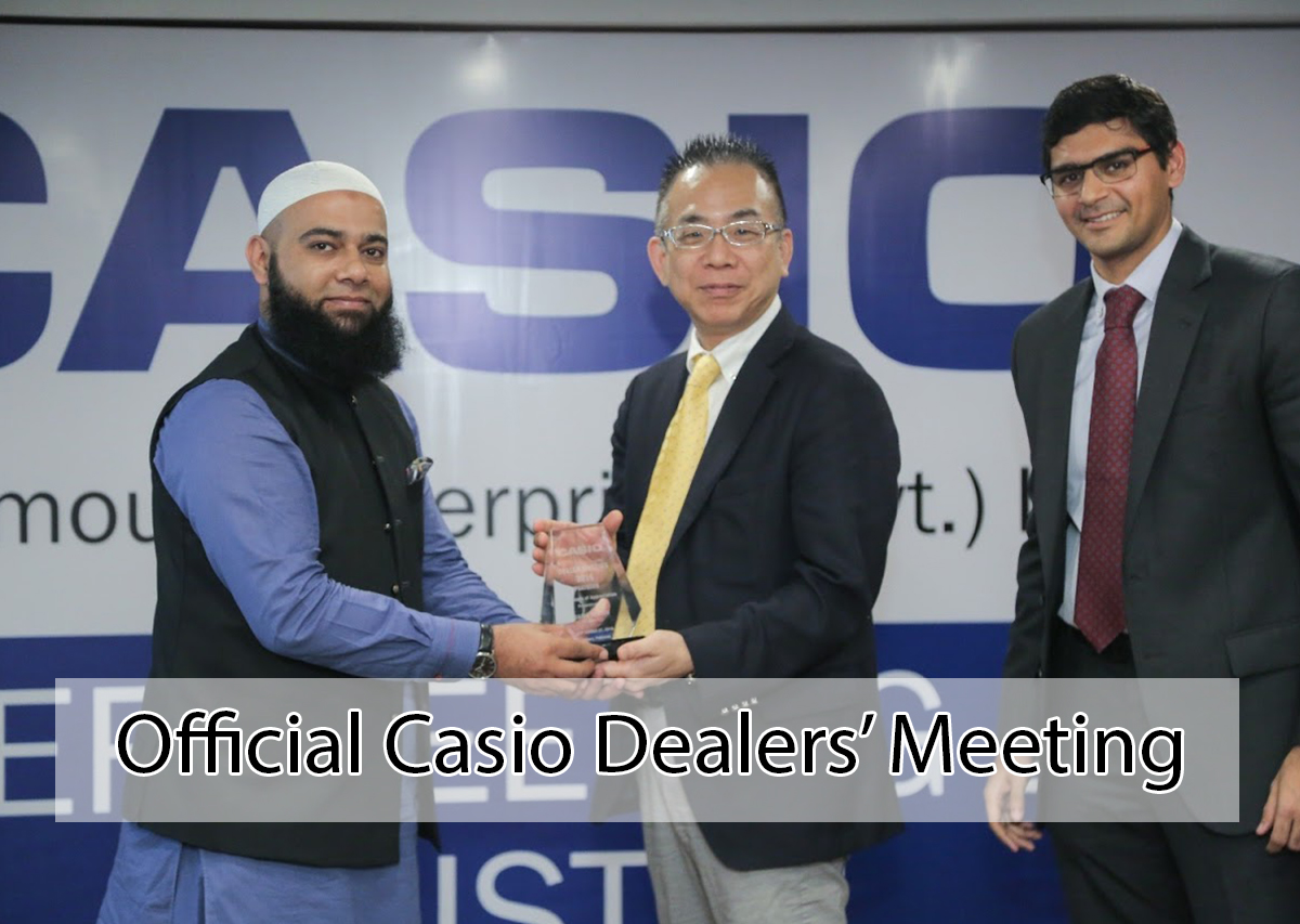 Official Casio Dealers Meeting